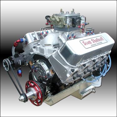 582 Big Block Chevy Nitrous Series Drag Race Engine