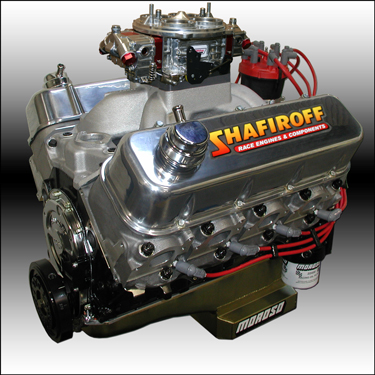 540 Big Block Chevy Drag Race Engine