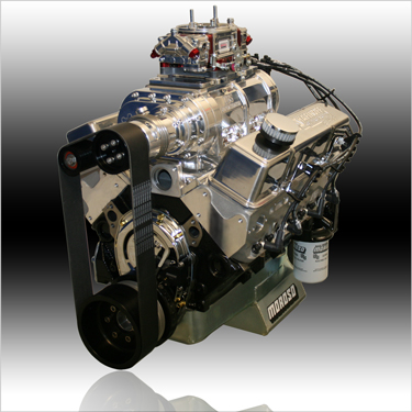 350 Small Block Chevy Supercharged Engine