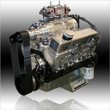 427 Small Block Chevy Supercharged Engine