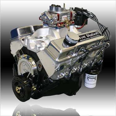 350 Small Block Chevy Pump Gas Engine