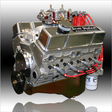 Engine Aluminum on 350 Small Block Chevy Crate Engine