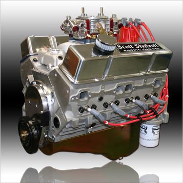 427 Small Block Chevy Aluminum Pump Gas Engine