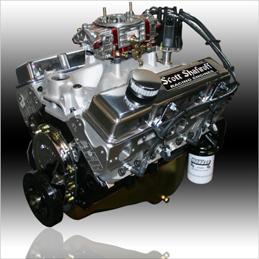 427 Small Block Chevy Pump Gas Engine