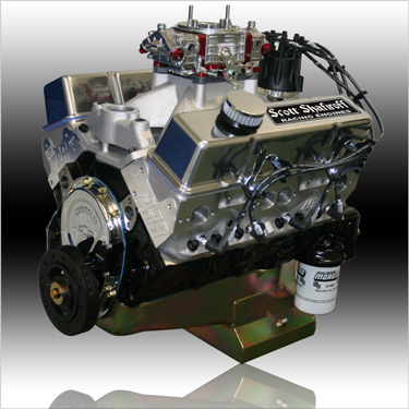 434 Small Block Chevy Ultrastreet Pump Gas Engine