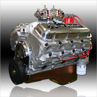 540 Big Block Chevy Aluminum Pump Gas Engine