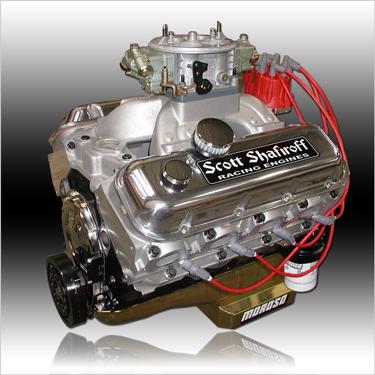 582 Big Block Chevy Ultrastreet Pump Gas Engine
