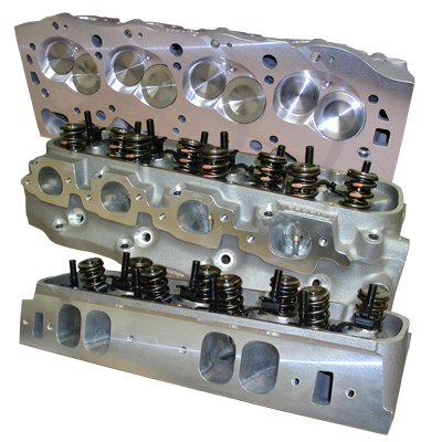 Brodix 351/365 Oval Port Big Block Chevy Cylinder Heads