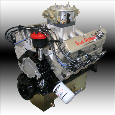 427 Small Block Ford Drag Race Engine