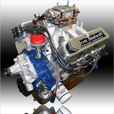 Pump Gas Engines by Shafiroff Race Engines and Components