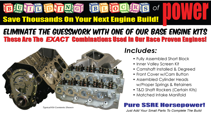 Do It Yourself Base Engine Kits by Shafiroff Racing