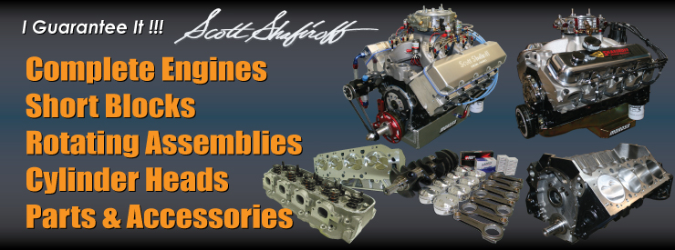 Drag Race Engines and High Performance Pump Gas Crate Engines by Shafiroff Racing