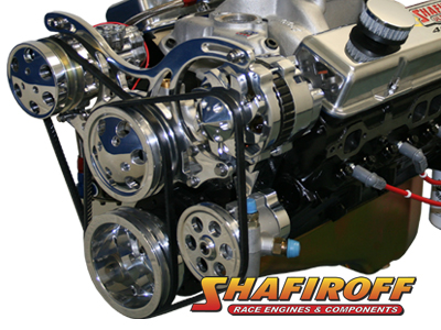 440/800HP Small Block Chevy SB2 2 Pump Gas Engine