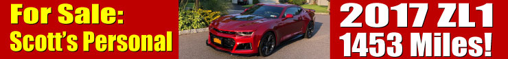 2017 ZL1 Camaro - FOR SALE