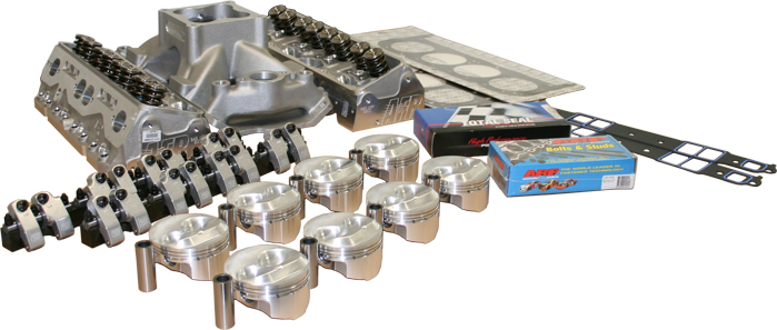 AFR 245 NPP Small Block Chevy Top End Kit